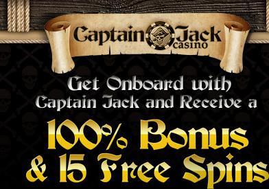 Captain Jack Casino 100 Free No Deposit Bonus Redeem Coupon